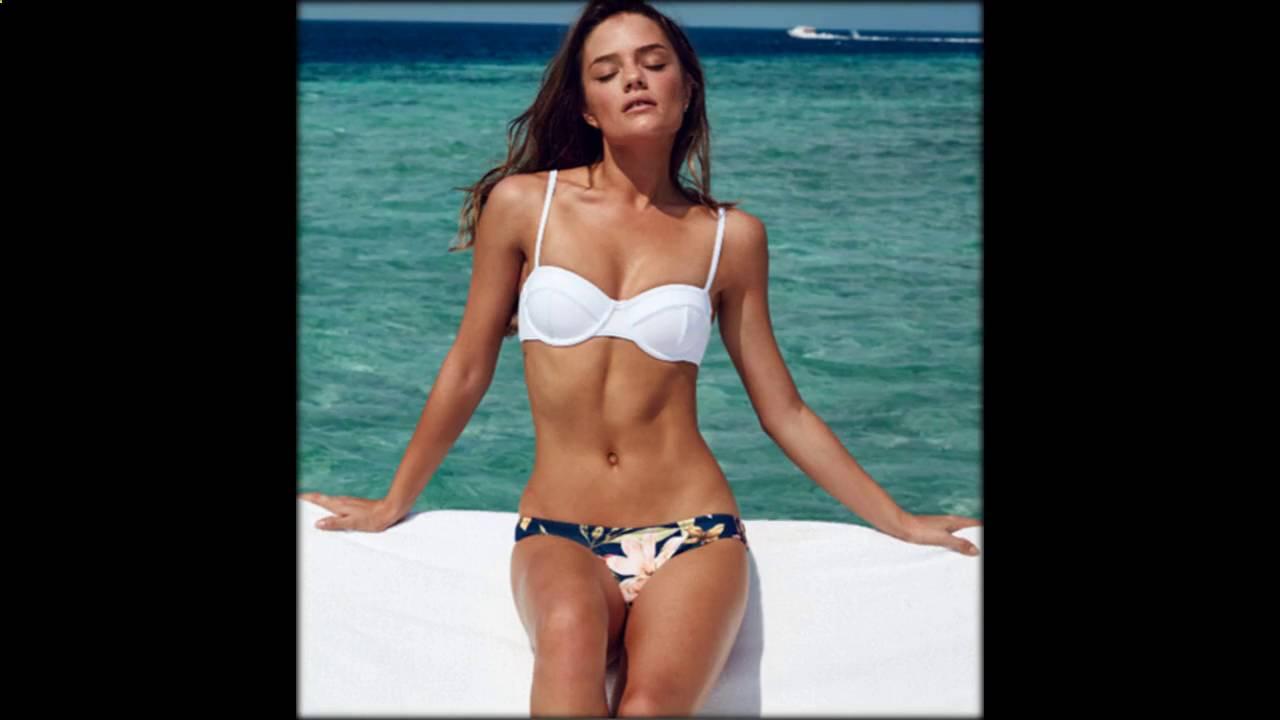 Такой купальник хорошо подойдет для стройных дам с небольшой грудью. Обладательницам бюсте размера с и больше, при желании купить спортивный купальник на тонких бретелях, нужно искать купальник со вшитой поддержкой груди (она напоминает топ на резинке). Некоторые модели купальников.