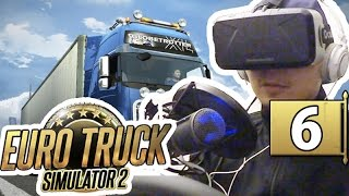 Euro Truck|#6 虛擬駕駛 with Oculus Rift DK2!!