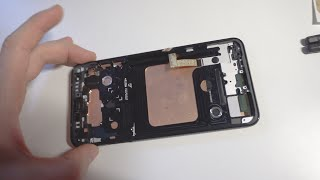 Smartphone Display and Frame Replacement (LG V30+)