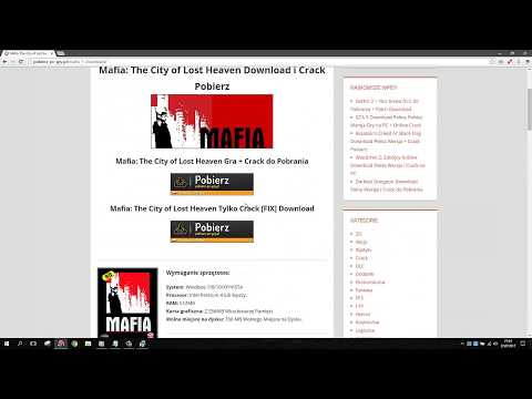 MAFIA THE CITY OF LOST HEAVEN Download Pełna Wersja + Crack + Patch Graficzny