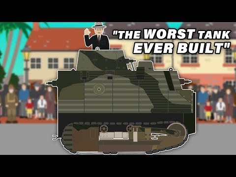 The Bob Semple Tank - 'The Worst Tank ever Built'