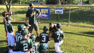 Little League Pregame Speech - Losing is Unacceptable