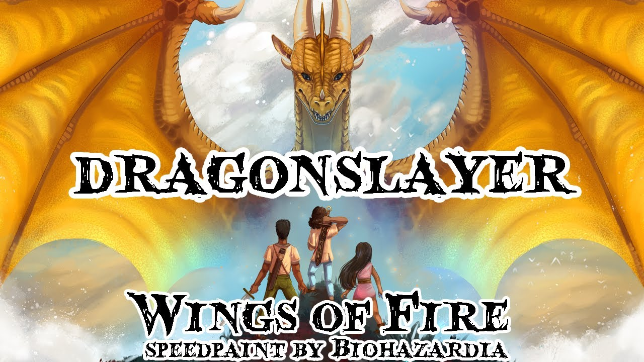 wings of fire dragonslayer leaf wren ivy vs general sandstorm speedpaint