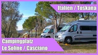 Campingplatz Le Soline - Casciano/Siena (Toskana)
