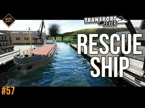 Rescue and recovery ship : Transport Fever The Alps #57