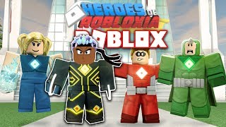 HEROES VON ROBLOXIA IN ROBLOX! *ALLE MISSIONEN* (WALKTHROUGH)