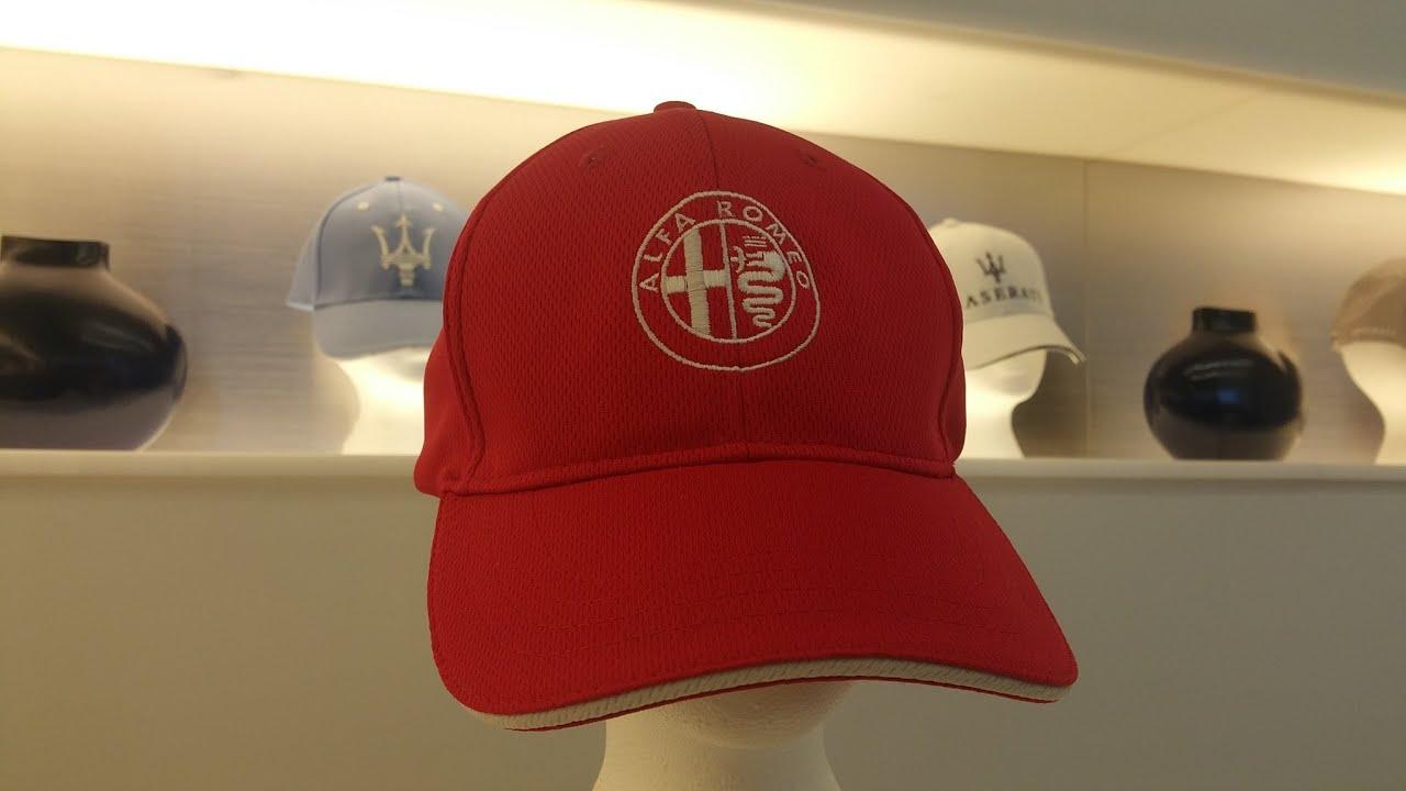 35 Red Alfa Romeo Baseball Cap For Sale At Zeigler Alfa