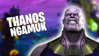THANOS MELAWAN 10 AVENGERS!!! - Fortnite [INDONESIA]