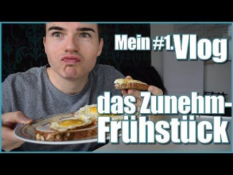 Frühstück zum Zunehmen | Zunehmen-Vlog #1 [ANLEITUNG]