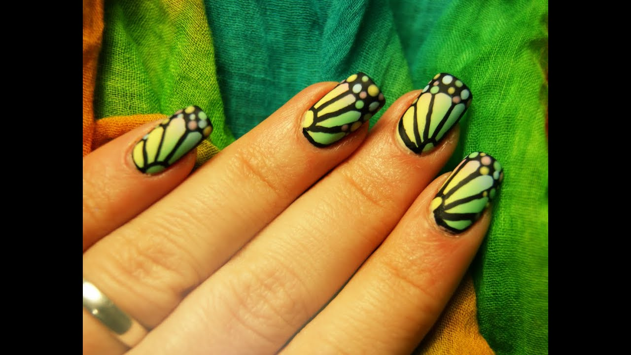 Erfly Wings Nail Art Design You