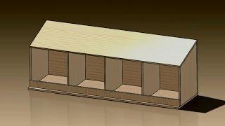 DIY Chicken Nest Box Assembly