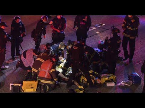 Falleció una de las mujeres atropelladas mientras protestaban en Seattle