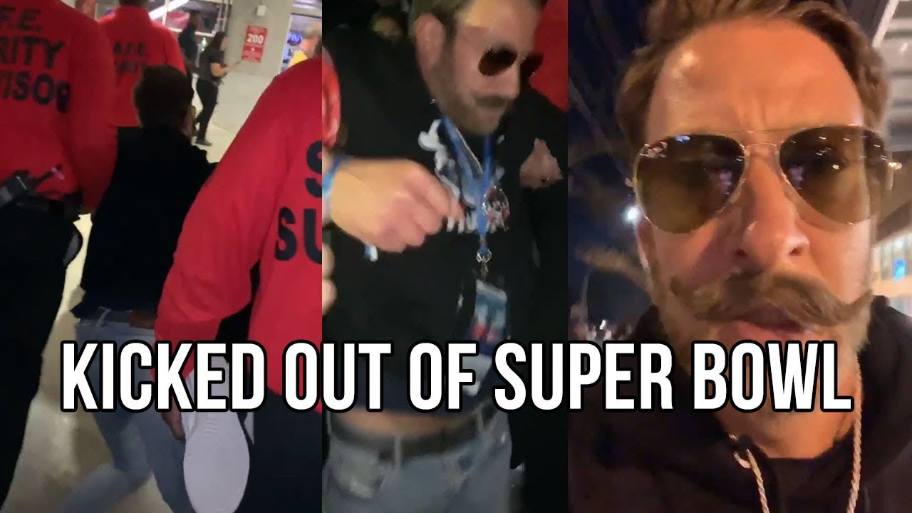 Barstool Sports Dave Portnoy Thrown Out Of Super Bowl During