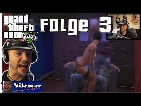 GTA V  HD DE Facecam: Schlägerei, Stripclub (Achtung Nacktszenen!!!) und geklaute Boote #3