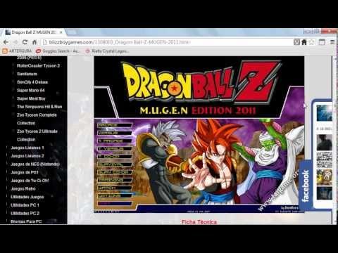 download game dragon ball z mugen edition 2011 mf