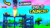 I Tried Launching The Rocket EARLY (Fortnite)
