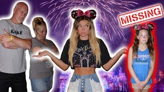 I lost my 11 year old sister at Disney World...