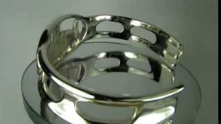 007b Silverjade com Ana Silver Name Bracelet