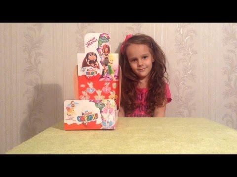 Распаковка Kinder surprise Феи  Fairy