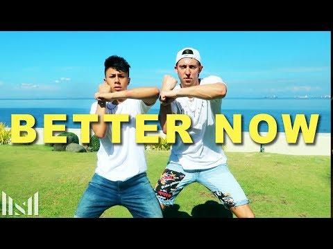 BETTER NOW - Post Malone Dance | Matt Steffanina ft Kenneth San Jose