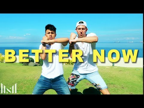 BETTER NOW - Post Malone Dance | Matt Steffanina ft Kenneth San Jose
