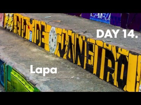 Day 14.  Rio De Janeiro Selaron Stairs