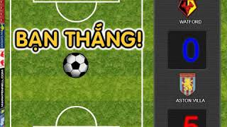 Premier League Foosball Game - Aston Villa