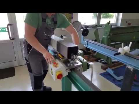downspout machine 6 meter seaming machine round square box pipe.
