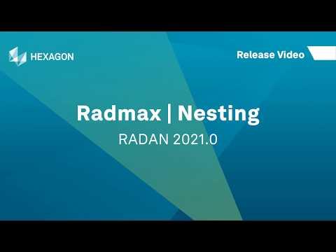 Radmax Nesting | RADAN 2021