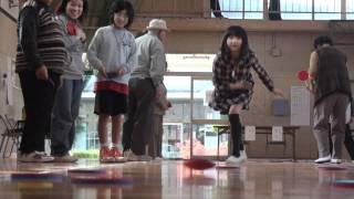 玉野市田井老人クラブ(田井みなとクラブ)では、3世代交流ディスコン大...