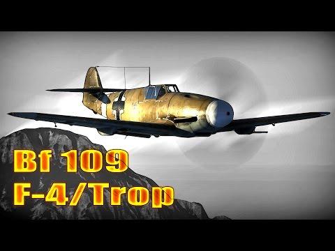 War Thunder: Messerschmitt Bf 109 F-4, Tier-3 / Rank-3 Review