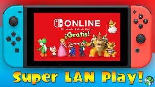 ¡ÚNETE AL SWITCH ONLINE GRATUITO DE LA COMUNIDAD, SUPER LAN PLAY! | Nintendo Switch | Yoshi
