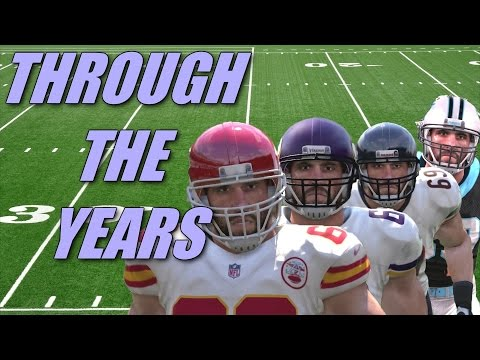 Jared Allen Through The Years - Madden 06 - Madden 16