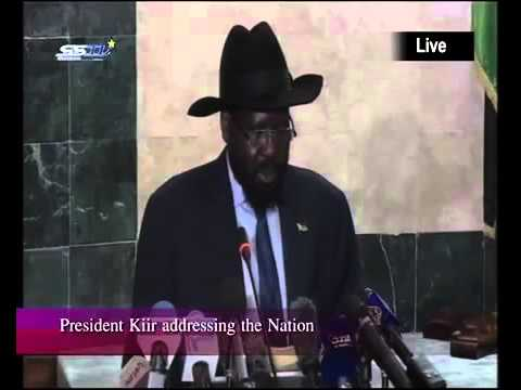 Speech of H. E. President Salva Kiir Mayardit, to the People of South Sudan on 18 Nov. 18, 2015