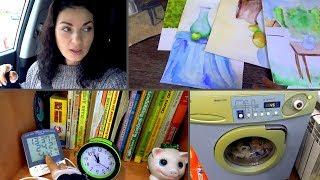 VLOG: Сняли швы /Детские стеллажи / Стиральная машинка / Мама Вика