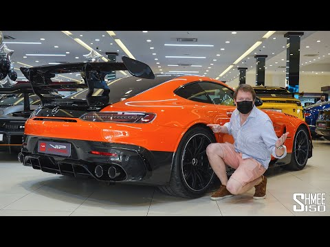 World's FIRST Customer AMG GT Black Series is HERE in Dubai!