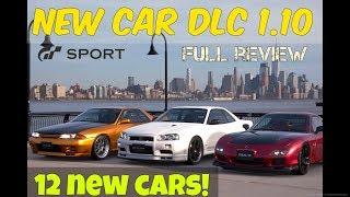 GT Sport: New Car DLC 1.10 | FULL REVIEW | Skyline,Rx-7,Raptor & more..