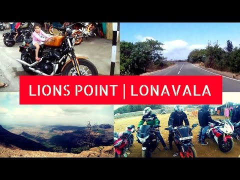 Lions Point Lonavala in Pune Bike Ride Video – Beautiful Place