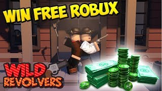 [ROBLOX LIVE] COME JOIN IN WILD REVOLVERS & SURVIVOR + WIN FREE ROBUX