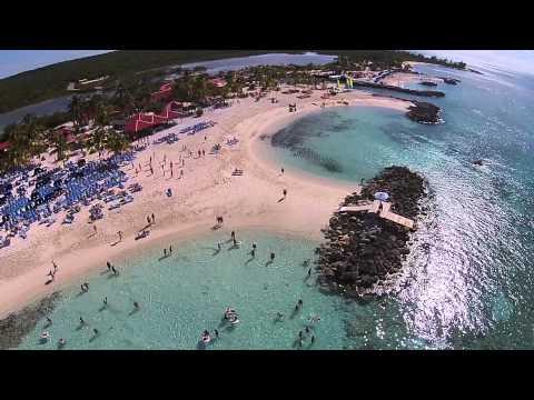 DJI Phantom on the Princess Cruise - Dales take the Caribbean