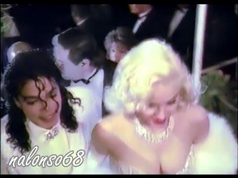 Michael Jackson & Madonna at the Academy Awards 1991