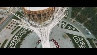 ASTANA -  BEAUTIFUL CITY. Астана с высоты птичьего полета