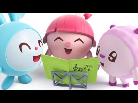 Малышарики   Сборник улыбок   Мультфильмы для детей