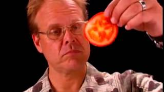 Repeat youtube video Shun Knife Anatomy - Alton Brown Shares why Shun Knives are His Favorite