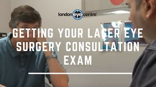 Getting Your Laser Eye Surgery Consultation Exam