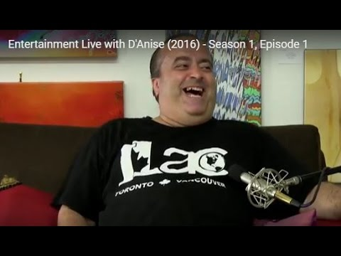 Entertainment Live with D'Anise - Rick Cordeiro