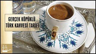 Download Gerçek Köpüklü Türk Kahvesi Nasıl Yapılır Öğrenin 👌 Türk Kahvesi Tarifi