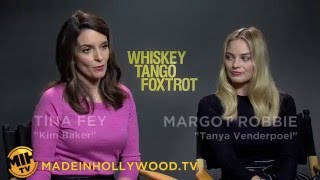 Why Tina Fey Desperately Wanted To Be Margot Robbie in 'Whiskey Tango Foxtrot'