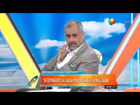 Moria Casán quedó libre y podrá volver a Argentina