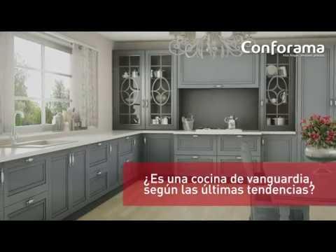 Últimas tendencias para tu cocina en Conforama - YouTube